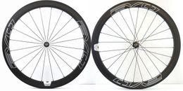 SpokeS bikeS online shopping - EVO C mm depth Road bike carbon wheels mm width clincher tubular bicycle super light aero carbon wheelset with Pillar spoke