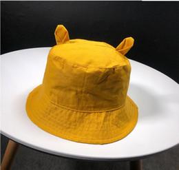 7a4aca48659e93 Hip Hop Bucket Hats Australia - New Cute Ear Bucket Hat for Women Panama  Fashion Bob