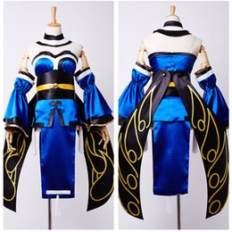 Discount latex costumes xs - Fate Extra CCC Caster Tamamo no mae Full Set Uniform Carnival Cosplay Costume