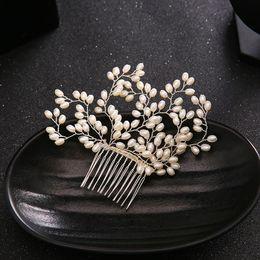 $enCountryForm.capitalKeyWord Australia - 2018 new products, bridal drill, comb, pearl headwear, wedding dress accessories, Bridal Comb.