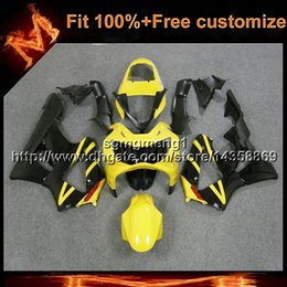 cbr929rr fairings Australia - 23colors8Gifts Injection mold black yellow motorcycle cowl for HONDA CBR929RR 2000-2001 CBR 929 RR 00 01 ABS Plastic Fairing