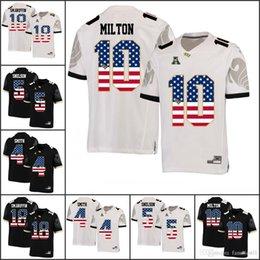 National flag NCAA UCF Knights College Football Jerseys McKenzie Milton SM. Griffin Otis Anderson Tre Quan Smith Dredrick Snelson Adrian 5f81af721