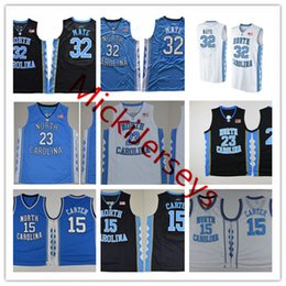 350f01507745 NCAA NORTH CAROLINA TAR HEELS Vince Carter College Basketball Jersey 32  Luke Maye 23 Michael NORTH CAROLINA TAR HEELS Jerseys S-3XL