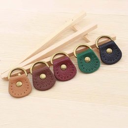 Discount small side bags - two-sided thickening small oval Lichee Pattern Leather Bag buckles With D ring belt 5 colors DIY Bag accessories 10pcs l
