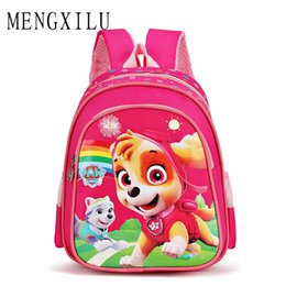 $enCountryForm.capitalKeyWord Australia - Kids Kindergarten Backpack kid School Book Bags Satchel for Boys and Girls Free Shipping Cartoon Dog Cute Children Backpacks