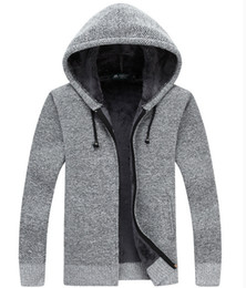 $enCountryForm.capitalKeyWord NZ - 2018 New winter sweater cardigan hooded men wear sweaters and cashmere coat thick sweater top male tide