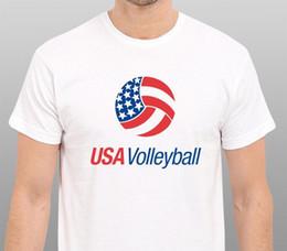 $enCountryForm.capitalKeyWord Australia - TEAM USA VOLLEYBALLER T-Shirt White Size: XS-S-M-L-XL-XXL