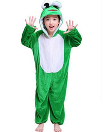 Custom made Catsuit online shopping - New style the children Cosplay Frog White rabbit Suitable for boys and girls Stage costume Long style dancing clothe