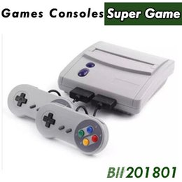 $enCountryForm.capitalKeyWord Australia - 16 Bit Super Mini SFC Game Console Entertainment System 64 Classic Games For SNES with 2 Controllers 16pcs