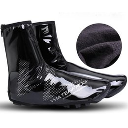 mtb cover shoes 2019 - Cycling Thermal Shoes Cover Winter Windproof MTB Bike Equipment Overshoes Ultralight Protector Warmer Boot Cover discoun