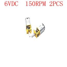 Micro Gears Australia - 6VDC 150RPM 3mm Shaft Micro Metal Gear Reducer GA12-N20