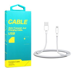 White lining paper online shopping - Meter Type C Micro usb Data Line Mobile Phone Charging Cable with Retail Paper Packaging Box
