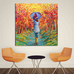 $enCountryForm.capitalKeyWord NZ - 1 Panel Colleen Study Original Oil Painting Modern Wall Painting Canvas Art Prints for Living Room Home Decoration No Frame