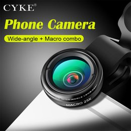 Microscope for phone online shopping - CYKE Universal Magnetic X Wide Angle X Macro Lens Microscope Mobile Phone Camera Lenses For iPhone Samsung Smartphone