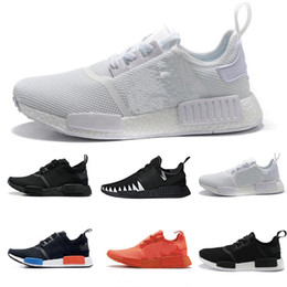 Chinese  2018 new designer sneaker Ultra Mesh Primeknit mastermind JAPAN x Triple White Cream Salmon City Paclk Men Women casual fashion trainer manufacturers