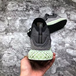 2018 Release AlphaEdge 4D LTD Futurecraft Aero Ash Green Core Black Men  Running Shoes Authentic Sports Sneakers With Box AC8485 1b528fcc5