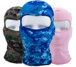 Велосипед маска для лица Открытый езда Спорт защита лица ветрозащитный шарф головной убор велосипед Cap Велоспорт маска для лица мотоцикл солнцезащитный крем Warps маски
