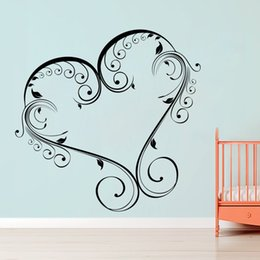 $enCountryForm.capitalKeyWord Canada - Creative Heart Wall Sticker Decal Home & Office Décor Poster Art Painting Wall Stickers Vinyl Decor Decals