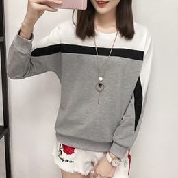 7d4434c91025 Cap moda online shopping - Long Sleeve T Shirt Women Tops Tee Shirt Femme  Plus Size