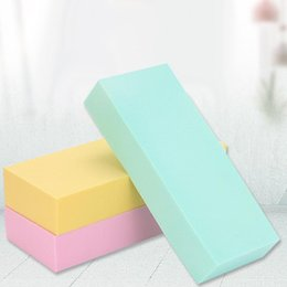 $enCountryForm.capitalKeyWord Australia - Multi Use PVA Sponge Soft Cotton Super Mud Rubbed Block Artifact Adult Baby Bath Decontamination Sponge Swim