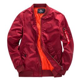 9fa72028dc71 Wholesale 2018 Rib Bottom Pendulum Face Jackets Men Pocket Decoration Mens  Designer Jackets Youthful Popularity MA1 Pilot Jackets