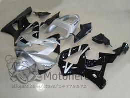 Honda Cbr929 Australia - Injection mold Plastic Fit For Honda CBR900RR 929 2000 2001 CBR 900RR CBR929 929RR 00 01 Fairing Kit Silver Black Bodywork