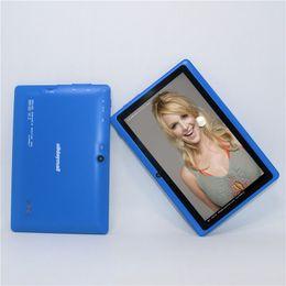 $enCountryForm.capitalKeyWord Australia - 50% off!!!7 Inch A88X Tablet PC Allwinner A33 Quad core Android 4.4.2 512MB+8GB 1024*600 Dual cameras WiFi Blue color tablet