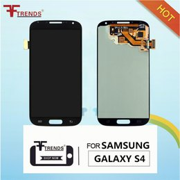 Touch Screen For Galaxy S4 Canada - 100% Original LCD for Samsung Galaxy S4 i9500 i9505 M919 L720 i545 R970 i337 LCD Touch Screen & Digitizer Assembly Replacement Repair Parts