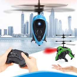 Wholesale Cool RC Infrared Induction Remote Control RC Toy CH Gyro Helicopter Drone FOR DROPSHIPPING new arrival