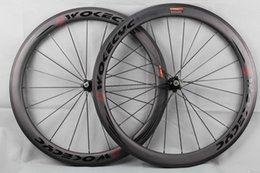 wheel set bike UK - carbon fiber road bike wheels 50mm clincher tubular racing bicycle wheels 700c carbon bike wheelset BOB basalt brake surface width 25mm