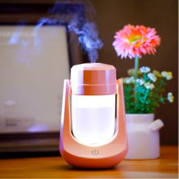 usb air cooler Australia - New Product U Cool Humidifier Mini Desktop Air Humidifier Diffuser 120ML USB Automatic Power-Off Mist Maker Fogger For Home
