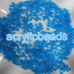 $enCountryForm.capitalKeyWord NZ - 2000pcs Colorful Cezch Loose 2mm Matt Glass Seed Beads Frosted Round Transparent Spacer Ball Jewelry Finding Craft Making