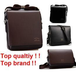Men Big Crosses Canada - 2016 Rushed Zipper Handbags Men Messenger Bags, Big Promotion Kangaroo PU Leather Shoulder Bag Man Briefcase MBG2