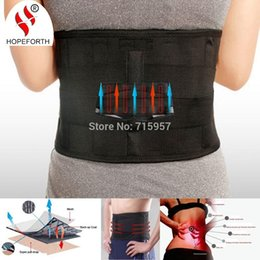 Wholesale Hopeforth Lumbar Support Brace Hot Sale Fashion Breathable Mesh Four Steels Plate Protection Back Waist Support Belt