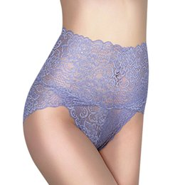 c08fb89bfd4 BONJEAN sexy womens panties underwear lingerie sheer lace panty slimming  shaper underwear plus size high waisted 2017 hot