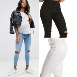 Джинсы для беременных 2xl онлайн-New Strentchy Maternity Pants Mom Elastic  Pants Slim Fit Maternity 1421b935890