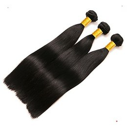 Grace hair products online shopping - Ease And Grace Black Color Malaysian Straight Hair Weave Malaysian Human Remy Hair Weave a Unprocessed Virgin Hair Products