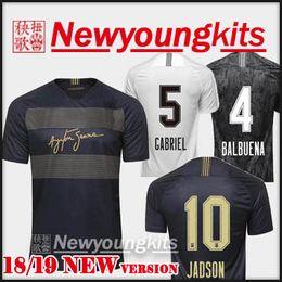 Discount uniform army - 2018 19 Corinthian Third AWAY Soccer Jersey 18 19 black Football uniforms CLAYTON JADSON ROMERO PABLO M.GABRIEL Football