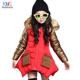 $enCountryForm.capitalKeyWord Canada - Kindstraum 2016 New Children Thick Cotton Hooded Jacket Brand Kids Pockets Super Warm Wear Fashion Winter Coats for Girls,RC846