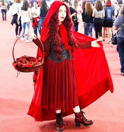 $enCountryForm.capitalKeyWord NZ - Christmas Hooded Cloaks Burgundy Wine Red Wedding Capes Cheap In Stock Real Photo Bridal Accessories Halloween Cloak