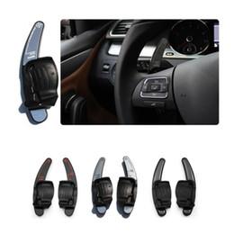 Discount vw passat cc wheels - 1Pair Steering Wheel Shift Dial DSG Paddle Extension For Volkswagen VW Golf 6 Jetta GTI MK6 R R20 Passat CC R36 EOS SCIR