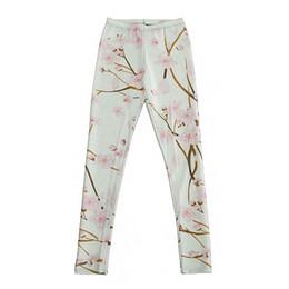$enCountryForm.capitalKeyWord UK - Elastic Casual Pants 3D Digital Printing Cherry blossoms Pattern Women Leggings 7 sizes Fitness Clothing Free Shipping
