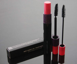 Discount size hot - Hot Brand makeup mascara HAUTE & NAUGHTY LASH MASCARA DOUBLE EFFET 9g Black Highd Quality DHL shhipping