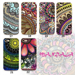 Discount phone cases for 3d print - Fashion 3D Mandala Flowers Painted TPU Phone Case Printing Patter Datura Protector for iPhone X 8 7 plus 6 6s 5s SE Sams