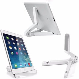 Wholesale Hot Sale Portable Rotating Folding Tablet Stand Holder Universal Tripod Lazy Support Phone Bracket for ipad for Samsung