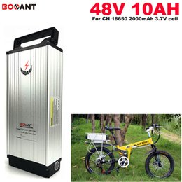 motor bicycles Australia - Free Shipping 48v 10Ah E-bike Lithium Battery pack for 18650 cell Electric Bicycle battery 48V for Bafang 350W 600W 800W motor