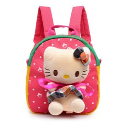 Cartoon Infant Children In Kindergarten School Plush Backpack Baby Girls Boys Shoulders Soft Toys For Birthday Gift 1 4 Y