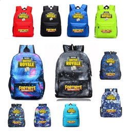 15 laptop china 2018 - 11 colors Fortnite Battle Royale Backpack Shoulder Travel Laptop Bag Teenager Girl Backpacks student School Bag Sport Ca