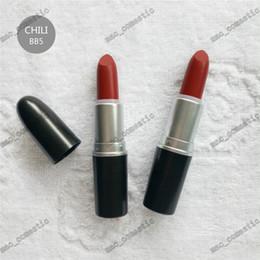 China Hot M Matte lipstick RUBY WOO PLEASE ME HONEY LOVE REBEL CHILI color long lasting Waterproof Retro Lipsticks makeup 26 colors cheap hot rebel suppliers