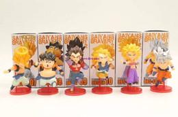 $enCountryForm.capitalKeyWord NZ - 6 Pcs Set Dragon Ball Super Saiyan Son Goku Vegeta Gogeta Veku Karifura Gotenks Action Figure Collectible Model Toy Kids Phone Accessories